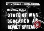 Image of Cuban soldiers Havana Cuba, 1935, second 7 stock footage video 65675051630