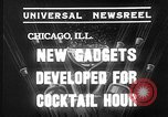 Image of models display cocktail bar gadgets Chicago Illinois USA, 1935, second 7 stock footage video 65675051632
