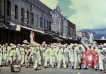 Image of Victory over Japan day Honolulu Hawaii USA, 1945, second 9 stock footage video 65675051647