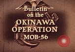Image of United States Marine Corps Okinawa Ryukyu Islands, 1945, second 3 stock footage video 65675051652