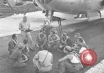 Image of B-29 Super Fortress Saipan Marianas Islands, 1945, second 1 stock footage video 65675051693