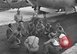 Image of B-29 Super Fortress Saipan Marianas Islands, 1945, second 4 stock footage video 65675051693