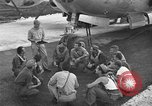 Image of B-29 Super Fortress Saipan Marianas Islands, 1945, second 5 stock footage video 65675051693