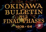 Image of Battle of Okinawa Okinawa Ryukyu Islands, 1945, second 3 stock footage video 65675051714