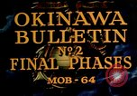 Image of Battle of Okinawa Okinawa Ryukyu Islands, 1945, second 4 stock footage video 65675051714