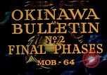 Image of Battle of Okinawa Okinawa Ryukyu Islands, 1945, second 6 stock footage video 65675051714