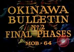 Image of Battle of Okinawa Okinawa Ryukyu Islands, 1945, second 7 stock footage video 65675051714