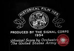 Image of Franklin D Roosevelt establishes CCC United States USA, 1933, second 1 stock footage video 65675051740