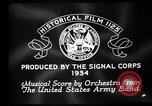 Image of Franklin D Roosevelt establishes CCC United States USA, 1933, second 2 stock footage video 65675051740