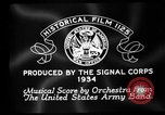 Image of Franklin D Roosevelt establishes CCC United States USA, 1933, second 3 stock footage video 65675051740