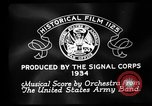 Image of Franklin D Roosevelt establishes CCC United States USA, 1933, second 4 stock footage video 65675051740