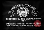 Image of Franklin D Roosevelt establishes CCC United States USA, 1933, second 5 stock footage video 65675051740