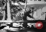Image of CCC Yellowstone Wyoming, 1935, second 10 stock footage video 65675051744