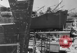 Image of Henry Kaiser ship building method United States USA, 1942, second 12 stock footage video 65675051748