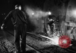 Image of steel workers and steel mill Youngstown Ohio USA, 1944, second 7 stock footage video 65675051762