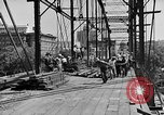 Image of Construction of Southside Bridge in Charleston West Virginia USA, 1937, second 6 stock footage video 65675051768
