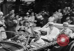 Image of Prime Minister Winston Churchill with Mackenzie King Quebec Canada, 1943, second 6 stock footage video 65675051789