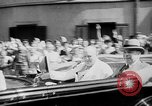 Image of Prime Minister Winston Churchill with Mackenzie King Quebec Canada, 1943, second 7 stock footage video 65675051789