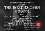 Image of Dick Powell Road is Open Again United States USA, 1933, second 8 stock footage video 65675051797