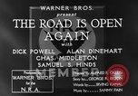 Image of Dick Powell Road is Open Again United States USA, 1933, second 10 stock footage video 65675051797