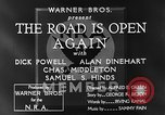Image of Dick Powell Road is Open Again United States USA, 1933, second 11 stock footage video 65675051797