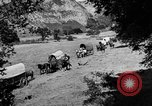 Image of horse drawn covered wagons United States USA, 1918, second 7 stock footage video 65675051805