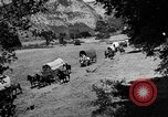 Image of horse drawn covered wagons United States USA, 1918, second 9 stock footage video 65675051805