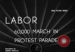 Image of Labor unions protest Taft-Hartley Act New York City United States USA, 1947, second 2 stock footage video 65675051810