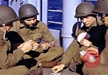 Image of American soldiers playing cards  Casablanca Morocco , 1942, second 4 stock footage video 65675051816