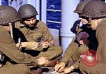 Image of American soldiers playing cards  Casablanca Morocco , 1942, second 7 stock footage video 65675051816