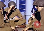 Image of American soldiers playing cards  Casablanca Morocco , 1942, second 10 stock footage video 65675051816