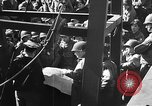 Image of American troops aboard LST English Channel, 1944, second 8 stock footage video 65675051823