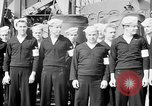 Image of American officer English Channel, 1944, second 6 stock footage video 65675051833