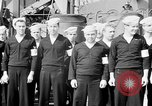 Image of American officer English Channel, 1944, second 7 stock footage video 65675051833