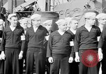 Image of American officer English Channel, 1944, second 10 stock footage video 65675051833