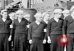 Image of American officer English Channel, 1944, second 12 stock footage video 65675051833