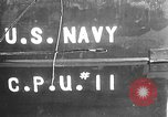 Image of U.S. sailors test fire hose on an LST Portland England, 1944, second 1 stock footage video 65675051842