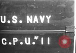 Image of U.S. sailors test fire hose on an LST Portland England, 1944, second 2 stock footage video 65675051842
