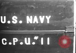 Image of U.S. sailors test fire hose on an LST Portland England, 1944, second 3 stock footage video 65675051842