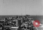 Image of LST underway in Mediterranean Sicily Italy, 1943, second 1 stock footage video 65675051855