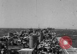 Image of LST underway in Mediterranean Sicily Italy, 1943, second 2 stock footage video 65675051855