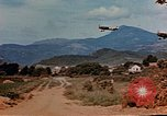 Image of aircraft P 47s Corsica France, 1944, second 5 stock footage video 65675051888