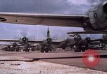 Image of B-29 superfortresses bombing Japan Guam Mariana Islands, 1945, second 6 stock footage video 65675051972
