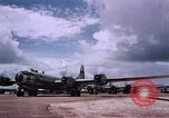 Image of B-29 superfortresses bombing Japan Guam Mariana Islands, 1945, second 8 stock footage video 65675051972