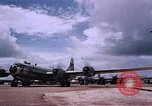 Image of B-29 superfortresses bombing Japan Guam Mariana Islands, 1945, second 9 stock footage video 65675051972