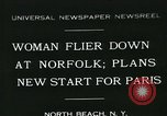 Image of Mrs Beryl Hart Norfolk Virginia USA, 1931, second 1 stock footage video 65675051974
