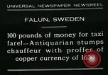 Image of antiquarian Falun Sweden, 1931, second 1 stock footage video 65675051977
