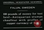 Image of antiquarian Falun Sweden, 1931, second 4 stock footage video 65675051977