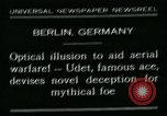 Image of aircraft Berlin Germany, 1931, second 1 stock footage video 65675051978