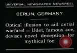 Image of aircraft Berlin Germany, 1931, second 3 stock footage video 65675051978